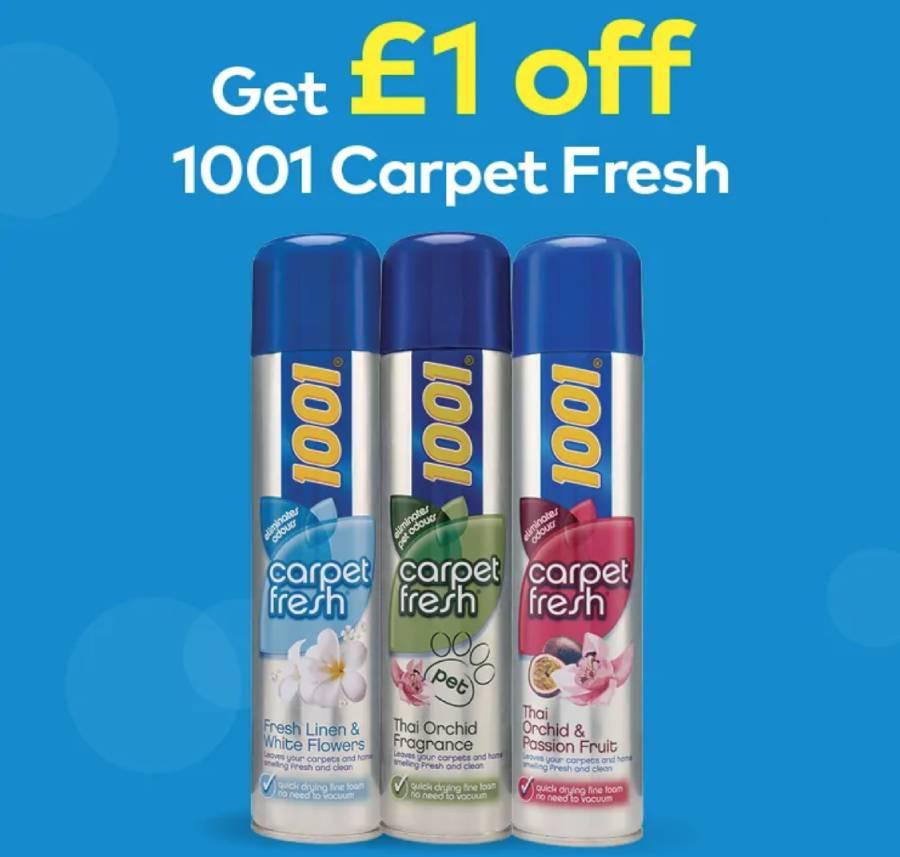 Free 1 Coupon For Carpet Fresh Daily Freebie